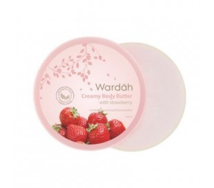 Body Butter with Strawbery - 50ml