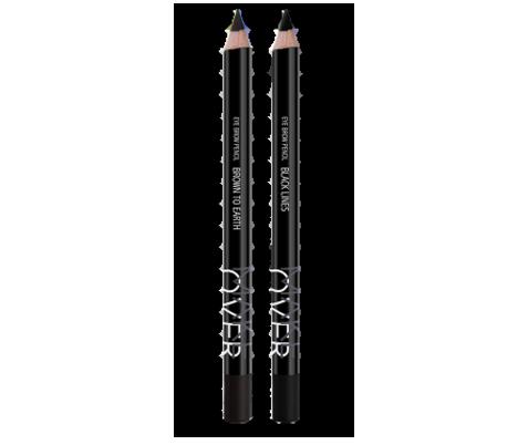 MakeOver Eye Brow Pencil - Black Lines