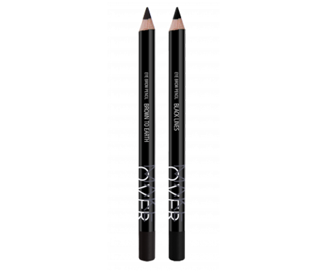 MakeOver Eye Brow Pencil - Brown To Earth