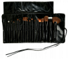 Professional Brush Set (20 pcs with Leather Bag)