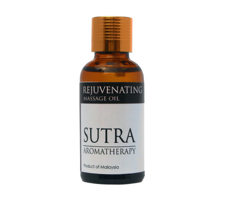 SUTRA Aromatheraphy Massage Oil - REJUVENATING