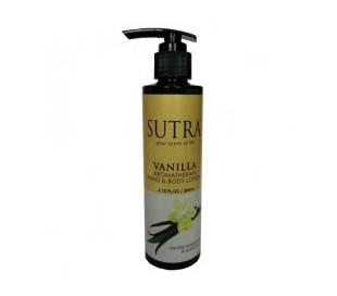 SUTRA Aromatheraphy Vanilla Hand & Body Lotion