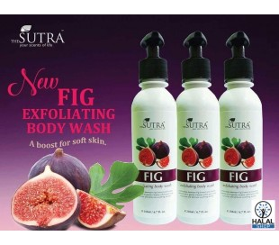 SUTRA Fig Exfoliating Body Wash