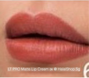 LT Pro Long Lasting Matte Lip Cream 06
