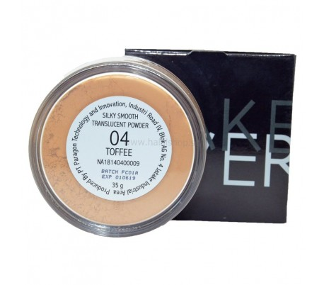 MAKEOVER SilkySmooth Translucent Powder 04 Toffee