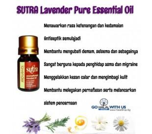 SUTRA Lavender Oil - Pure Essential Oil