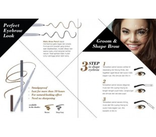 WARDAH EyeXpert Matic Brow Pencil - Brown