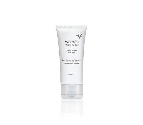 White Secret Facial Wash with Natural AHA- 100ml