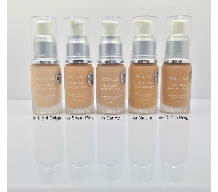 Halal Cosmetics Singapore - WARDAH Exclusive Liquid