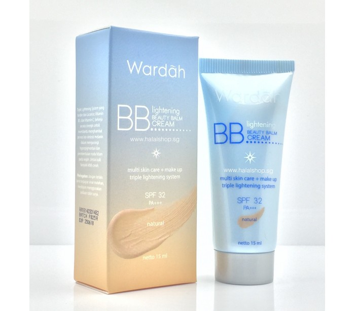 Halal Cosmetics Singapore - WARDAH Lightening Beauty Balm