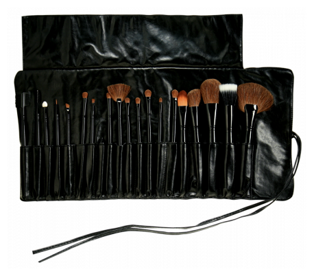 Halal Cosmetics Singapore Makeover Professional Brush Set 20 Pcs