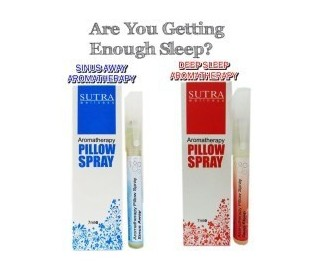 SUTRA Sinus Away Aromatheraphy Pillow Spray