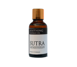 SUTRA Aromatheraphy Massage Oil - SOOTHING