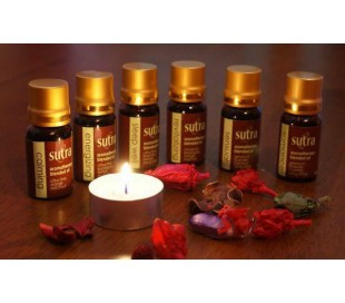 SUTRA Blended Essential Oils - ENERGIZING