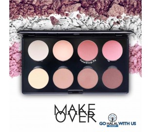 MAKEOVER Professional Highlight & Contour Palette