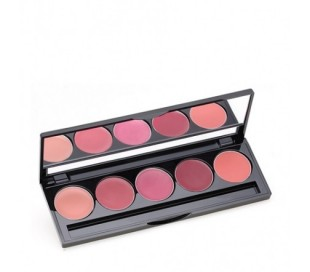 MAKEOVER Lip Colour Palette 01 Peplum Pink
