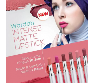 Wardah Intense Matte Lipstick 05 - Easy Brownie