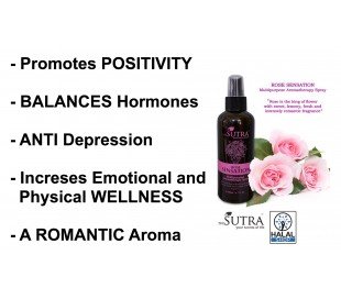SUTRA Multipurpose Spray Rose Sensation