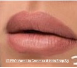 LT Pro Long Lasting Matte Lip Cream 03