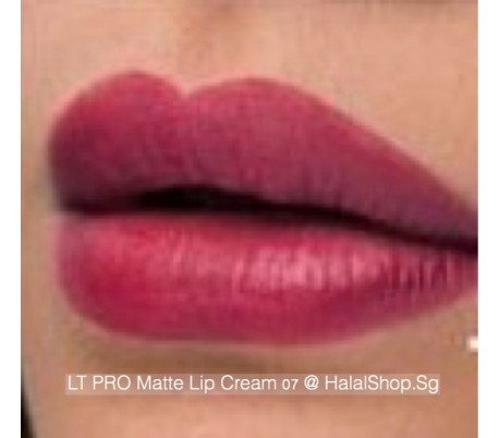 LT Pro Long Lasting Matte Lip Cream 07
