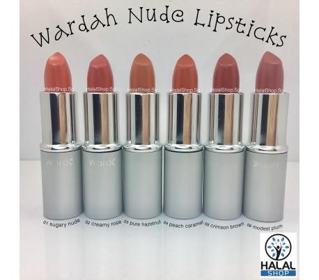 Wardah Nude Lipstick 06 - Modest Plum