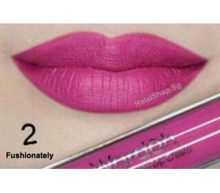 Exclusive Matte Lip Cream 02 Fushionately