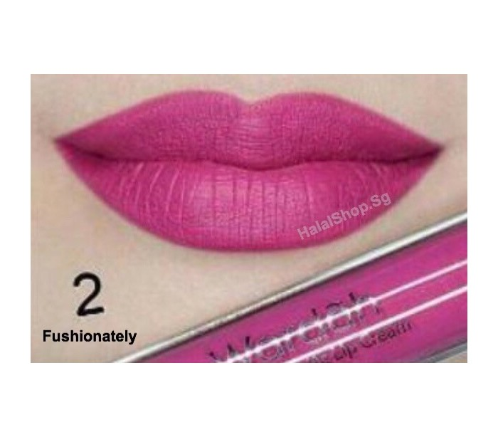 ... Exclusive Matte Lip Cream 02 Fushionately