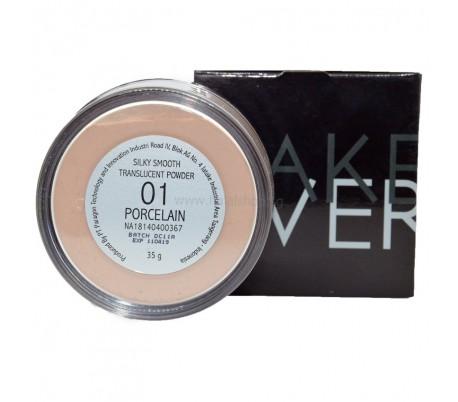 MAKEOVER SilkySmooth Translucent Powder 01 Porcelain