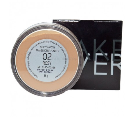 MAKEOVER SilkySmooth Translucent Powder 02 Rosy