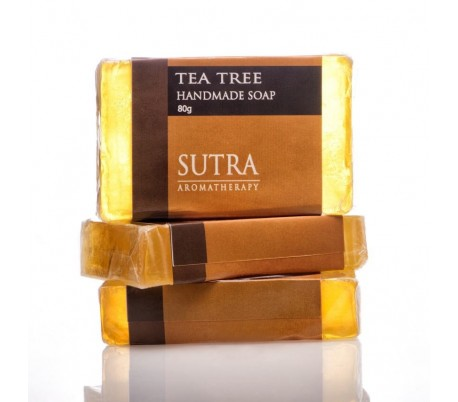 SUTRA Tea Tree Handmade Soap