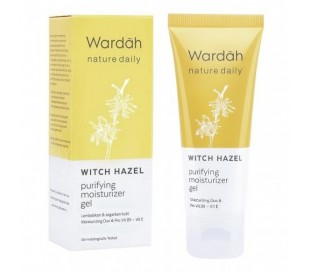 Wardah Witch Hazel Purifying Moisturizer Gel, 40 ml