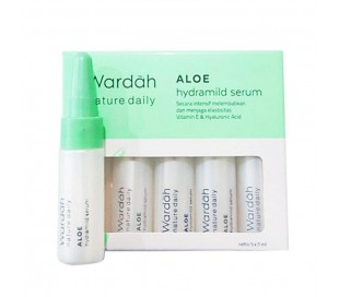 Wardah Aloe Hydramild Serum, 5x5 ml