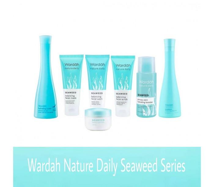 ... Wardah Seaweed Balancing Facial Scrub, 60 ml