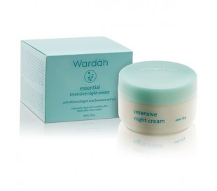 Wardah Seaweed Intensive Night Cream, 30 gr