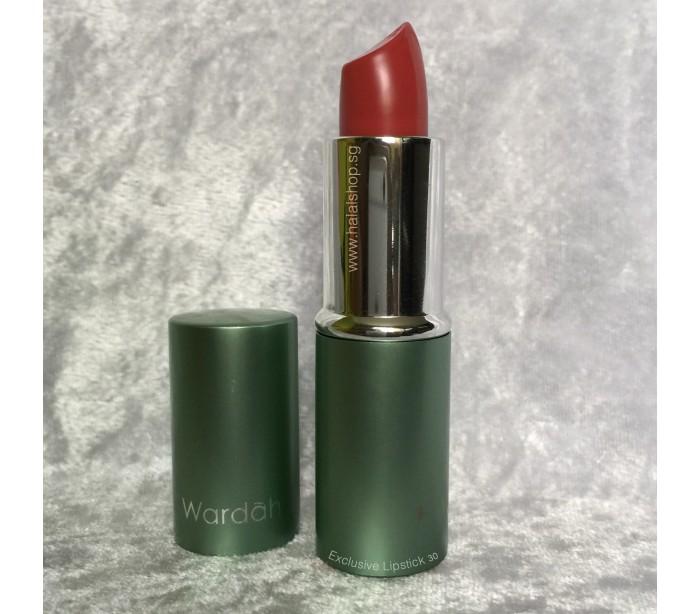 Halal Cosmetics Singapore - WARDAH Exclusive Lipstick 30