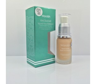WARDAH Exclusive Liquid Foundation - 01 Light Beige