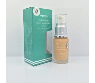 WARDAH Exclusive Liquid Foundation - 02 Sheer Pink