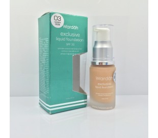 WARDAH Exclusive Liquid Foundation - 03 Sandy Beige